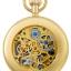นาฬิกาพกพา Charles-Hubert รุ่น 3816, Mechanical Dual Time Sun-Moon thumbnail 3