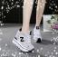รองเท้าผ้าใบแฟชั่นพื้นหนาเสริมสูง 8-10 cm thumbnail 3