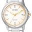 นาฬิกาผู้หญิง Citizen รุ่น FE6054-54A, Eco-Drive Swarovski 50m White Dial thumbnail 1