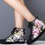 รองเท้าผ้าใบหุ้มข้อแฟชั่นสไตล์เกาหลี thumbnail 2