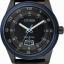 นาฬิกาข้อมือผู้ชาย Citizen Eco-Drive รุ่น AW1275-01E, Black IP & Blue 100m Sports Leather thumbnail 1