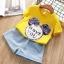 BE225 - เสื้อ+กางเกง 5 ตัว/แพค ไซส์ 5 7 9 11 13 thumbnail 1