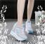 รองเท้าผ้าใบแฟชั่นพื้นหนาเสริมสูง 8-10 cm thumbnail 1