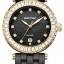 นาฬิกาผู้หญิง Rhythm รุ่น C1104C06, Sapphire Black Ceramic Swarovski Gold C1104C-06, C1104C 06 thumbnail 1