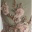 Sold เดรสยาว คอวี แขนล้ำ เข้าเอว ซิปข้าง สีชมพู เสื้อตกแต่งเลื่อม thumbnail 4