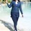 ชุดว่ายน้ำคนอ้วน พร้อมส่ง :ชุดว่ายน้ำไซส์ใหญ่สีน้ำเงินแบบสปอร์ตซิปหน้า set 5ชิ้น มีเสื้อแขนยาว บรา บิกินี่ กางเกงขาสั้นและกางเกงขายาว แบบสวยคุ้มสุดๆจ้า:รายละเอียดไซส์คลิกเลยจ้า thumbnail 1