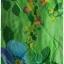 Sold เดรสยาว แขนกุด เข้าเอว ซิปหลัง สีเขียว ลายดอก thumbnail 3