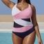 ชุดว่ายน้ำคนอ้วนพร้อมส่ง :ชุดว่ายน้ำวันพีชสีน้ำเงินกรมแต่งสีสลับชมพูขาวสีสันสดใสแบบเก๋ Sexy มากๆจ้า: มี Size 4XL,6XL รายละเอียดไซส์คลิกเลยจ้า thumbnail 1