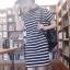 ((พร้อมส่ง)) เสื้อผ้าแฟชั่นผู้หญิง : เดรสสีดำ แต่งลายดำขาว ผ่าข้าง น่ารักมากๆจ้า thumbnail 1