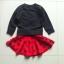 ID226- 5 ชุด/แพค เสื้อ+กระโปรง ไซส์ 100-110-120-130-140 thumbnail 3