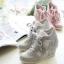 รองเท้าผ้าใบหุ้มข้อเสริมสูงแฟชั่นเกาหลี thumbnail 1