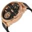 นาฬิกาผู้ชาย Diesel รุ่น DZ7380, MACHINUS Leather Rose Gold 4 Time Zone Men's Watch thumbnail 2