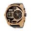 นาฬิกาผู้ชาย Diesel รุ่น DZ7261, My Daddy Four Time Zone Leather Men's Watch thumbnail 1