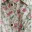 Sold เสื้อคลุม คอปก กระดุมหน้า สีครีม ลายดอก thumbnail 3