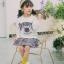 YY20-เสื้อ+กระโปรง 5 ตัว/แพค ไซส์ 100-140 thumbnail 2