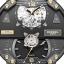 นาฬิกาผู้ชาย Diesel รุ่น DZ7365, Grand Daddy Automatic Gunmetal Dial Brown Leather Men's Watch thumbnail 2