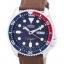 นาฬิกาผู้ชาย Seiko รุ่น SKX009J1-LS12, Automatic Diver's Ratio Brown Leather 200M thumbnail 1