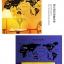 สติกเกอร์ แผนที่โลก(world trip) thumbnail 2
