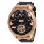 นาฬิกาผู้ชาย Diesel รุ่น DZ7380, MACHINUS Leather Rose Gold 4 Time Zone Men's Watch thumbnail 1