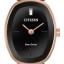 นาฬิกาผู้หญิง Citizen Eco-Drive รุ่น EX1413-55E, Silhouette Bangle Swarovski Rose Gold thumbnail 1