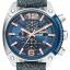 นาฬิกาผู้ชาย Diesel รุ่น DZ4374, Overflow Denim Chronograph Watch thumbnail 1