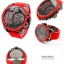 นาฬิกาผู้ชาย Diesel รุ่น DZ7279, MR. DADDY CHRONOGRAPH RED SILICONE GUNMETAL thumbnail 4