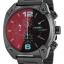 นาฬิกาผู้ชาย Diesel รุ่น DZ4316, Overflow Chronograph Black Dial Black Ion-plated thumbnail 1