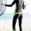 ชุดว่ายน้ำคนอ้วน ทูพีชพร้อมส่ง :ชุดว่ายน้ำแขนยาวสีดำ กางเกงขายาวสีดำแต่งลายสีเหลือง .สีสันสดใสแบบสวยน่ารักมากๆจ้า:รอบอก38-46นิ้ว เอว40-50นิ้ว สะโพก40-52นิ้ว thumbnail 2