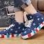 รองเท้าผ้าใบหุ้มข้อสไตล์เกาหลี thumbnail 2