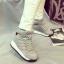 รองเท้าผ้าใบหุ้มข้อส้นสูงมีรูระบายอากาศ thumbnail 1