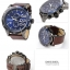 นาฬิกาผู้ชาย Diesel รุ่น DZ4312, Double Down Brown Leather Men's Watch thumbnail 4
