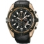 นาฬิกาผู้ชาย Orient รุ่น FTT0Y004B0, Chronograph Rose Gold Quartz Leather Strap Men's Watch thumbnail 1