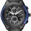 นาฬิกาข้อมือผู้ชาย Citizen Eco-Drive รุ่น CA0288-02E, Black And Blue HSTech Chronograph thumbnail 1