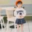 YY21-เสื้อ+กระโปรง 5 ตัว/แพค ไซส์ 100-140 thumbnail 3