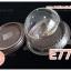 กล่องเค้กส้ม ฝาโดม E77 กล่องกลม ฐานสีน้ำตาล thumbnail 1