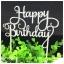 ป้ายปักหน้า วันเกิด Happy BirthDay ป้ายตกแต่ง thumbnail 4