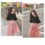 MU3213-เสื้อ+กระโปรง 6 ตัว/แพค ไซส์ 120-170 thumbnail 2