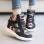 รองเท้าผ้าใบส้นสูงลายพราง thumbnail 2