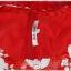 Sold เดรส แขนกุด เข้าเอว ซิปหลัง เสื้อปักเลื่อม สีขาว แดง กระโปรงสุ่ม thumbnail 4