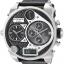 นาฬิกาผู้ชาย Diesel รุ่น DZ7125, Mr.Daddy Chronograph Black Leather Men's Watch thumbnail 1