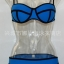 ชุดว่ายน้ำแฟชั่นพร้อมส่ง :ชุดว่ายน้ำแฟชั่นทูพีชสีน้ำเงิน แต่งลายผ้าตัดขอบดำ สีสดใสน่ารักมากๆจ้า:รอบอก28-32นิ้ว เอว30-34นิ้ว สะโพก32-36 นิ้วจ้า thumbnail 1