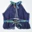 ชุดว่ายน้ำคนอ้วน พร้อมส่ง :ชุดว่ายน้ำไซส์ใหญ่สีดำแต่งลายโบฮีเมียนสีน้ำเงินเขียวสีสันสดใส set 4 ชิ้นมีเสื้อตัวนอก บราตัวใน กางเกงขาสั้น กางเกงขายาว แบบเก๋น่ารักมากๆจ้า:รายละเอียดไซส์คลิกเลยจ้า thumbnail 7