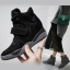 รองเท้าผ้าใบส้นสูง Velcro หนัง nubuck thumbnail 1