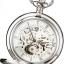 นาฬิกาพกพา Charles-Hubert รุ่น 3804, Mechanical Silver Tone thumbnail 2