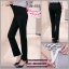 กางเกงทำงานคนท้อง ทรงสวย มีผ้าพยุงครรภ์และสายปรับขนาด สีดำ M,L,XL,XXL thumbnail 5
