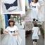 เสื้อคลุมท้อง สีขาว ผ้านิ่มใส่สบาย memory L,XL thumbnail 1
