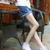 กางเกงยีนส์ขาสั้นคนท้อง ฟอกสวย ปลายพับ น่ารักค่ะ XL,XXL