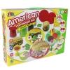 แป้งโดว์ American Hamburger Set