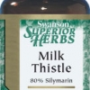 Swanson Superior Herbs Milk Thistle (Standardized) 250 mg 120 Caps