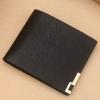 กระเป๋าสตางค์ทรงสั้น PIDENGBAO สีดำ